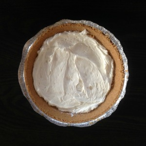 Raspberry Cream Cheese pie - cream cheese filling - mwn
